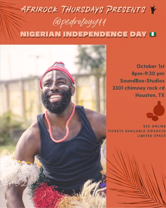 AfriRock Thursday Nigerian Independence Day