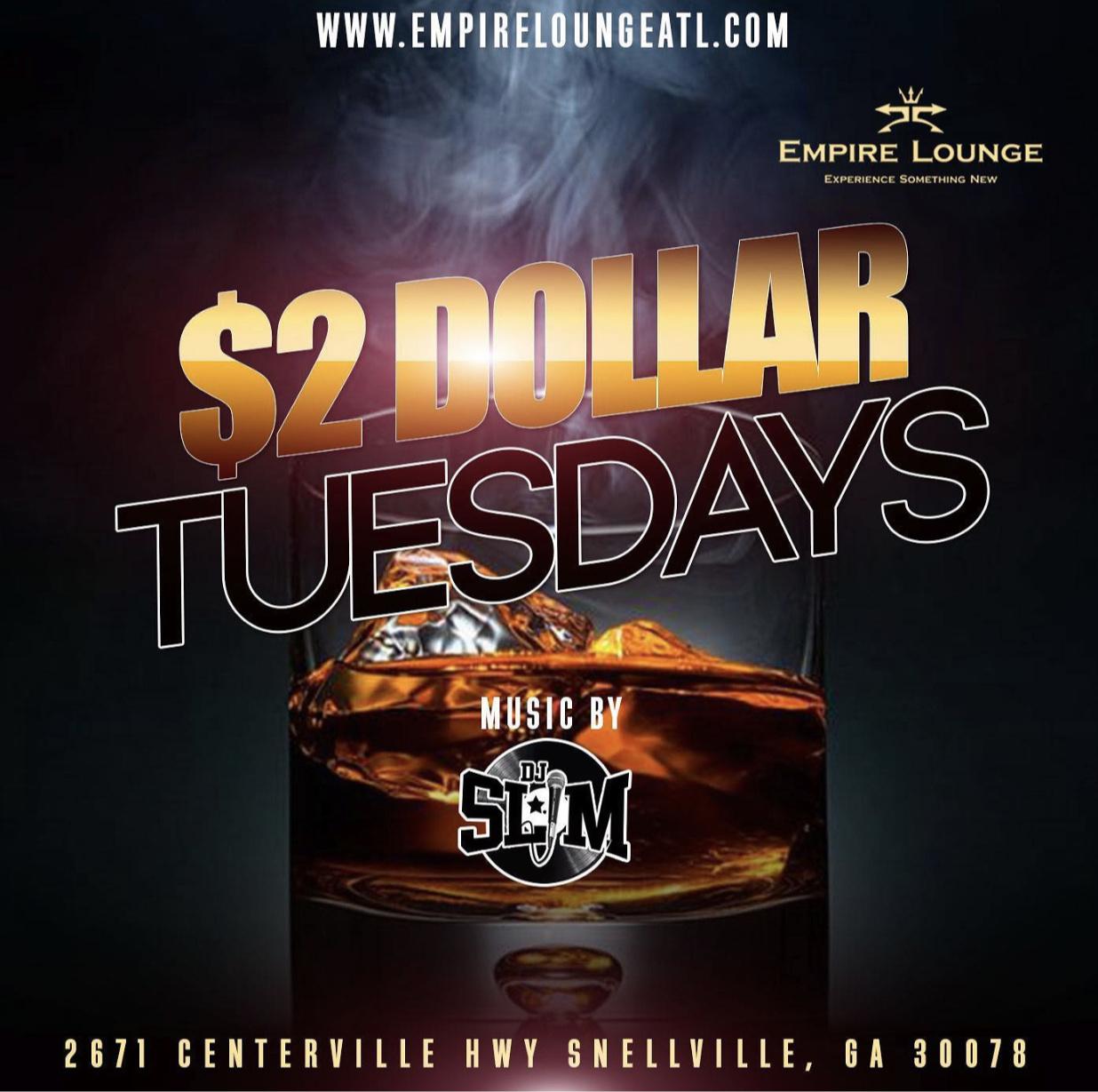 $2 Dollar Tuesdays