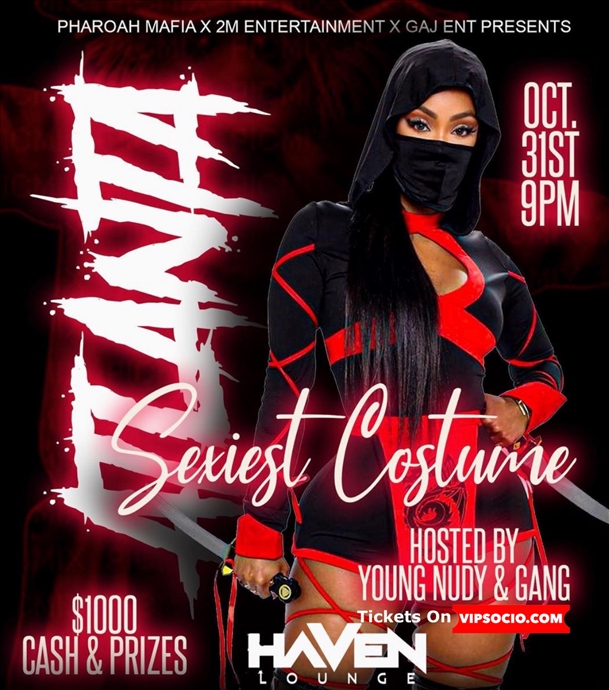 Halloween Bash ft: Young Nudy!