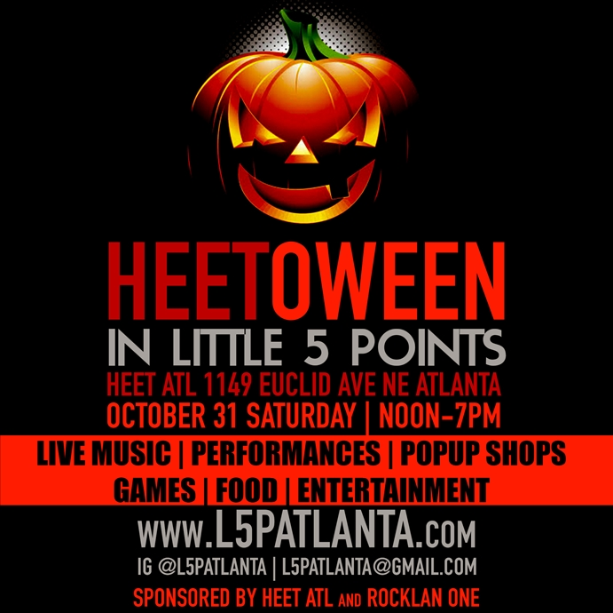 HEETOWEEN in Little 5 Points