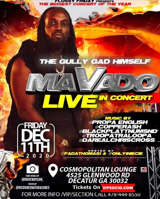 MAVADO LIVE in Atlanta