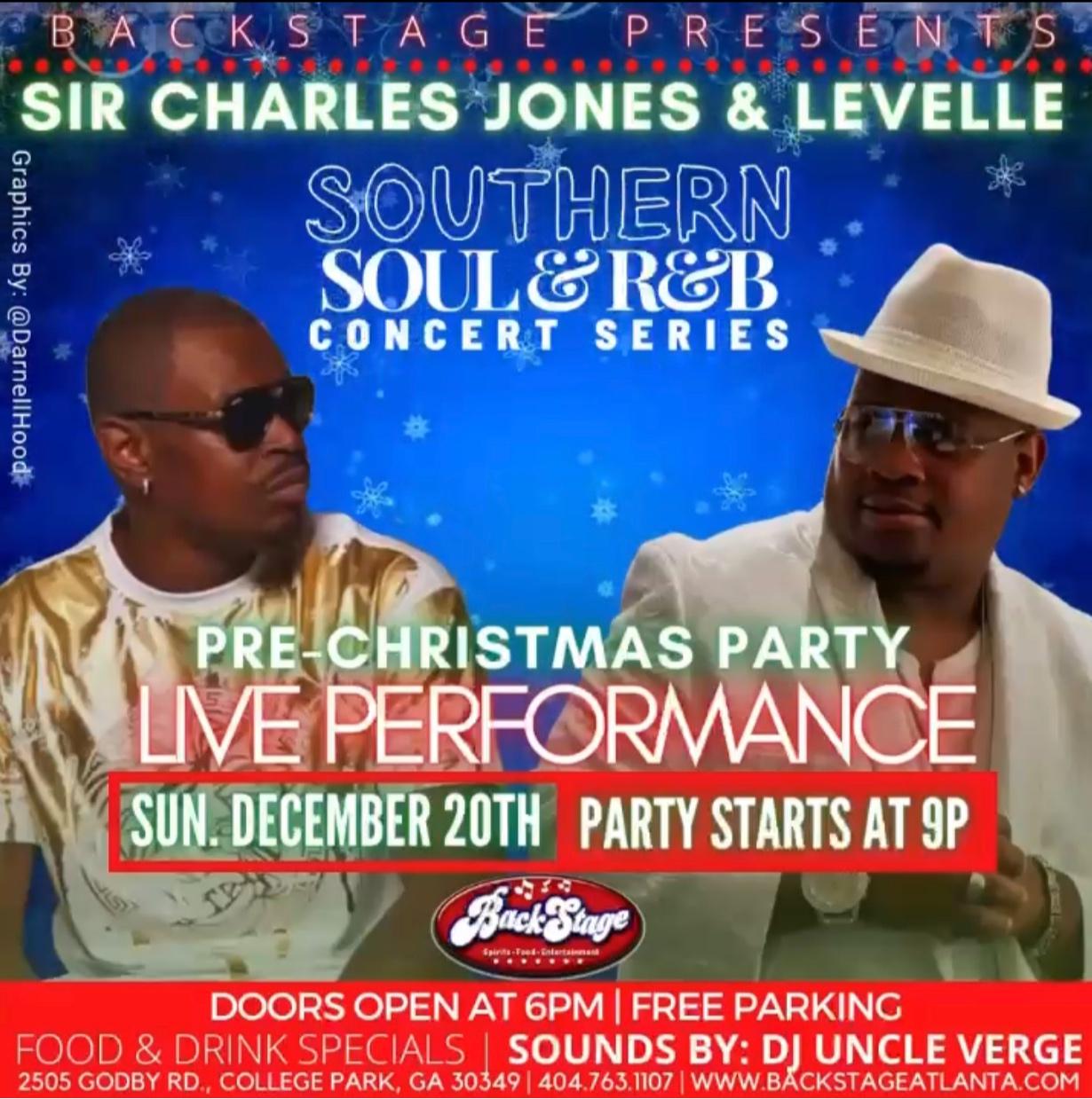 Southern Soul & R&B Concert Series | Sir Charles Jones & Levelle