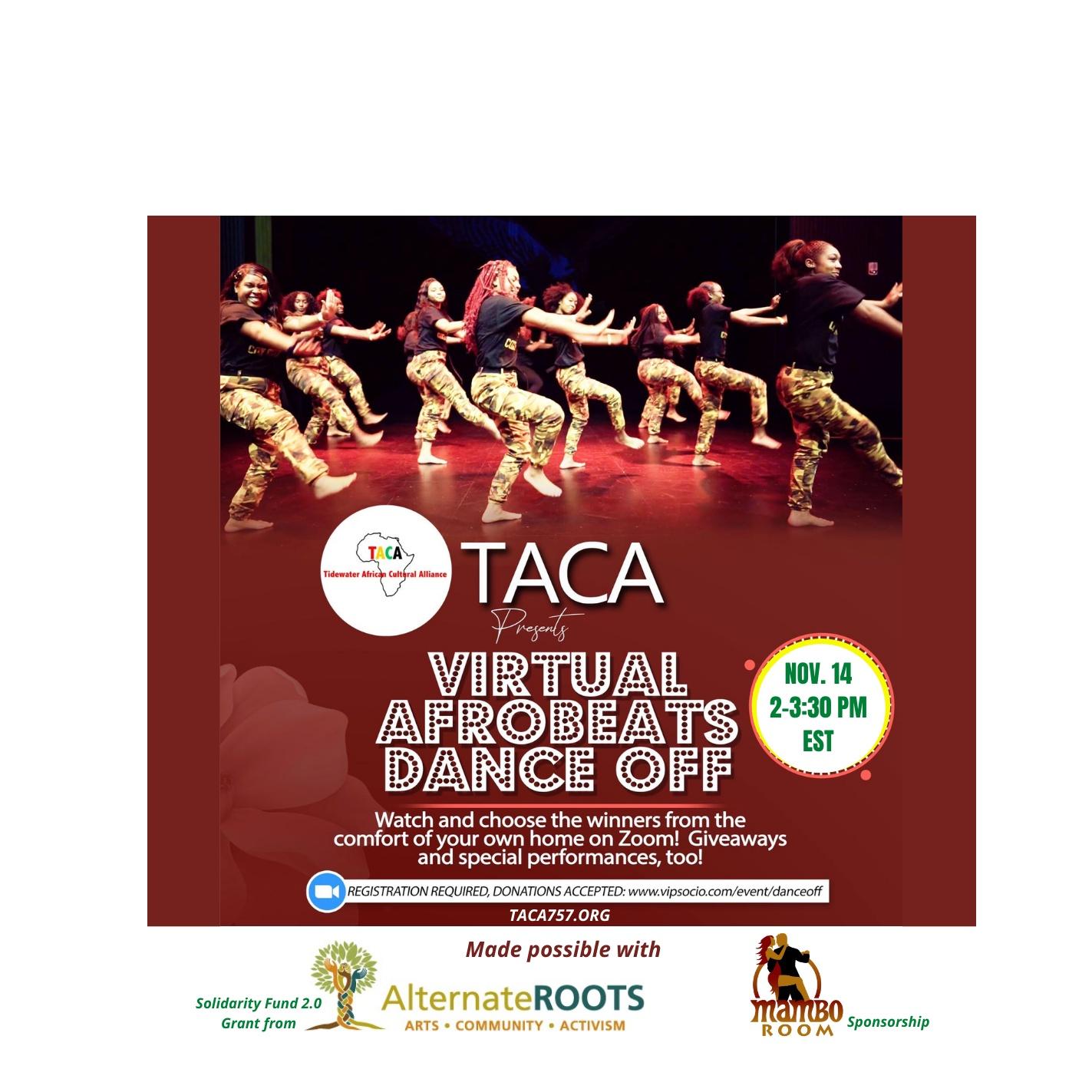 Virtual Afrobeats Dance Off!