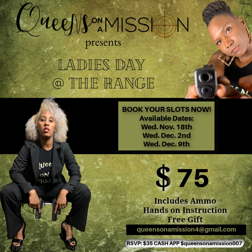 Ladies Night at the Gun Range Dec. 2nd