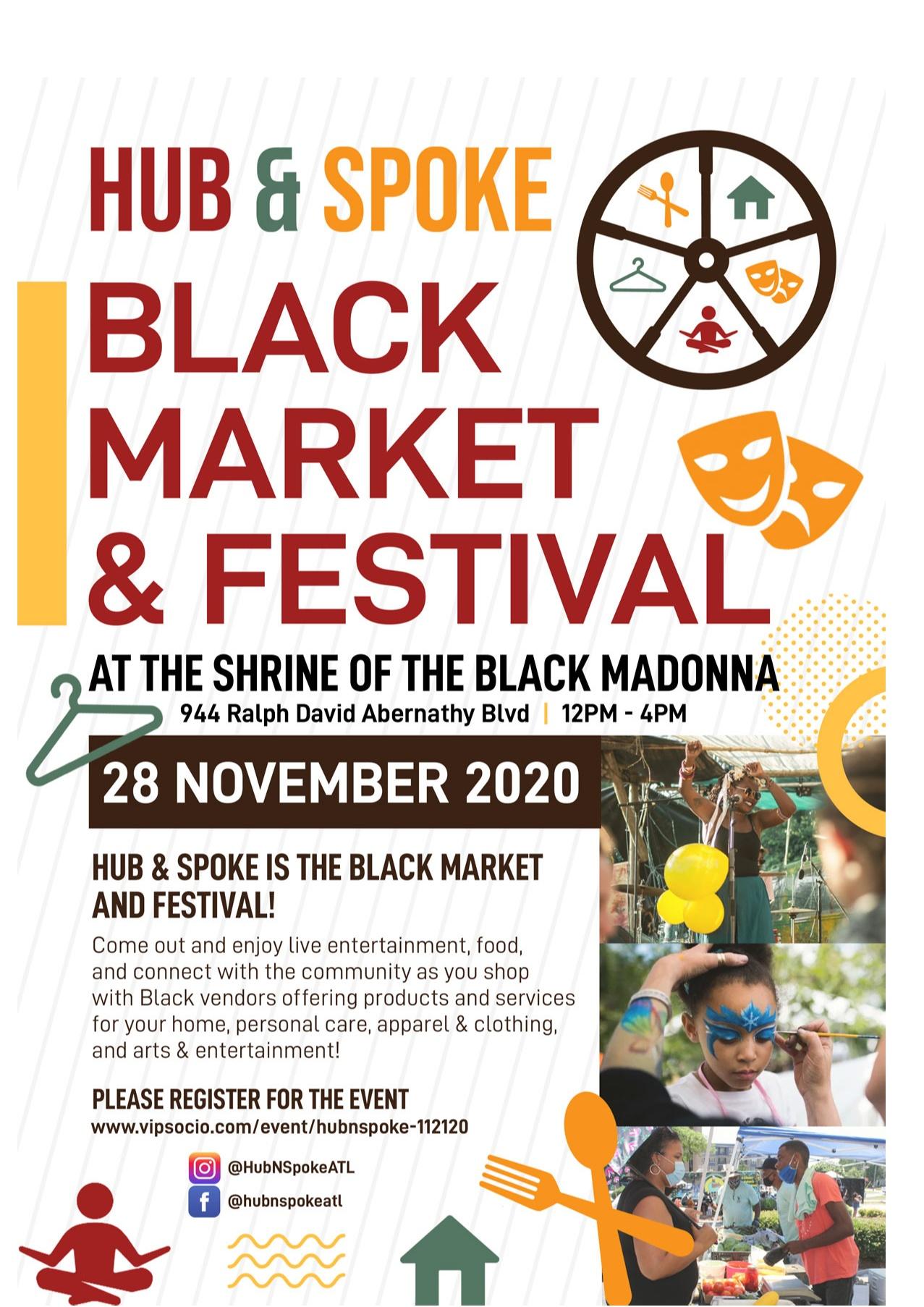 Hub & Spoke | Black Market & Festival