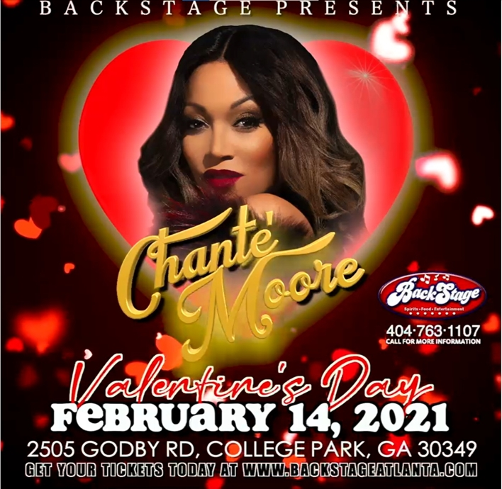 An Intimate Valentines Day with Chante' Moore