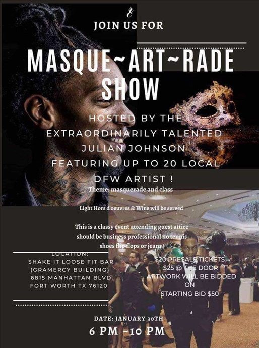 MASQUE-ART-RADE SHOW