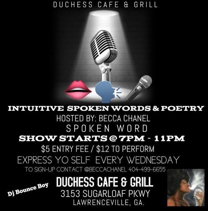 Intuitive Spoken Word & Poetry