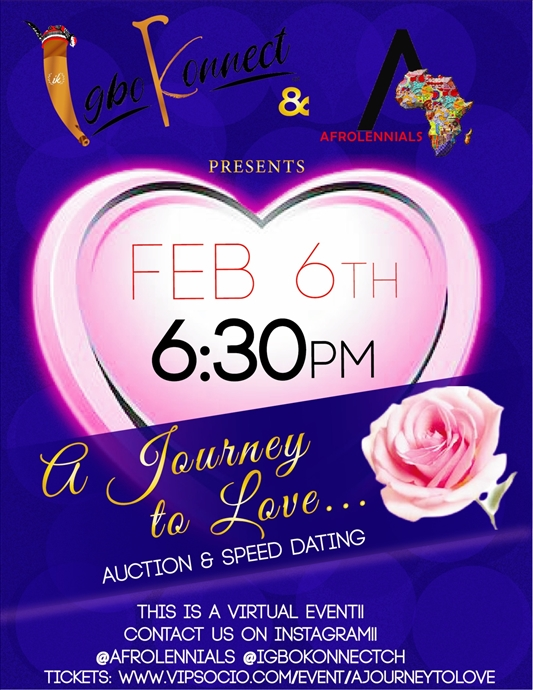 A Journey to Love | Date Auction & Speed Dating