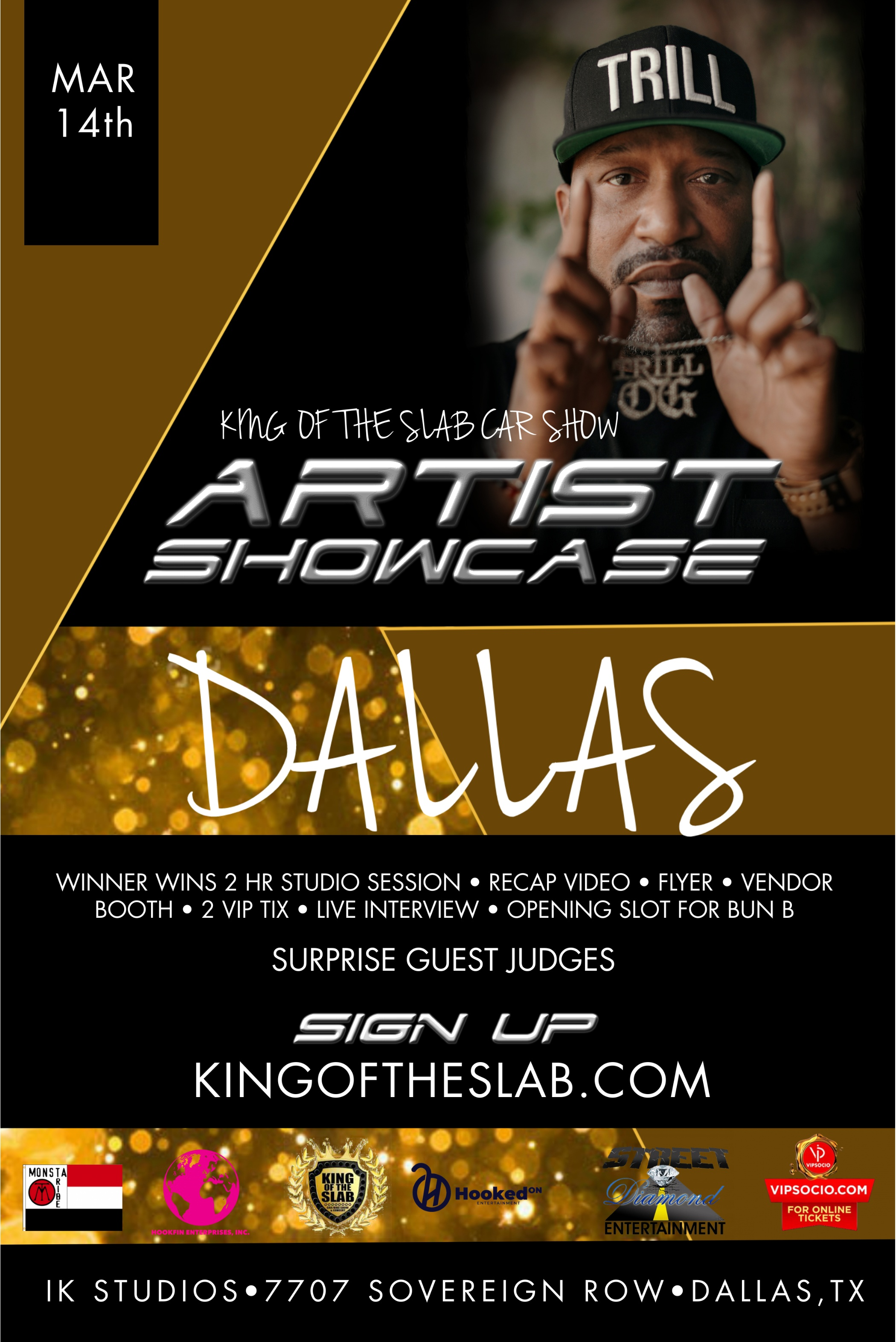 King of the Slab Dallas Artist Showcase Registration