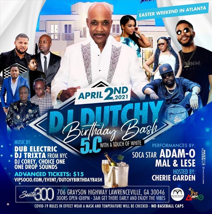 Dutchy 5.0 Birthday Bash