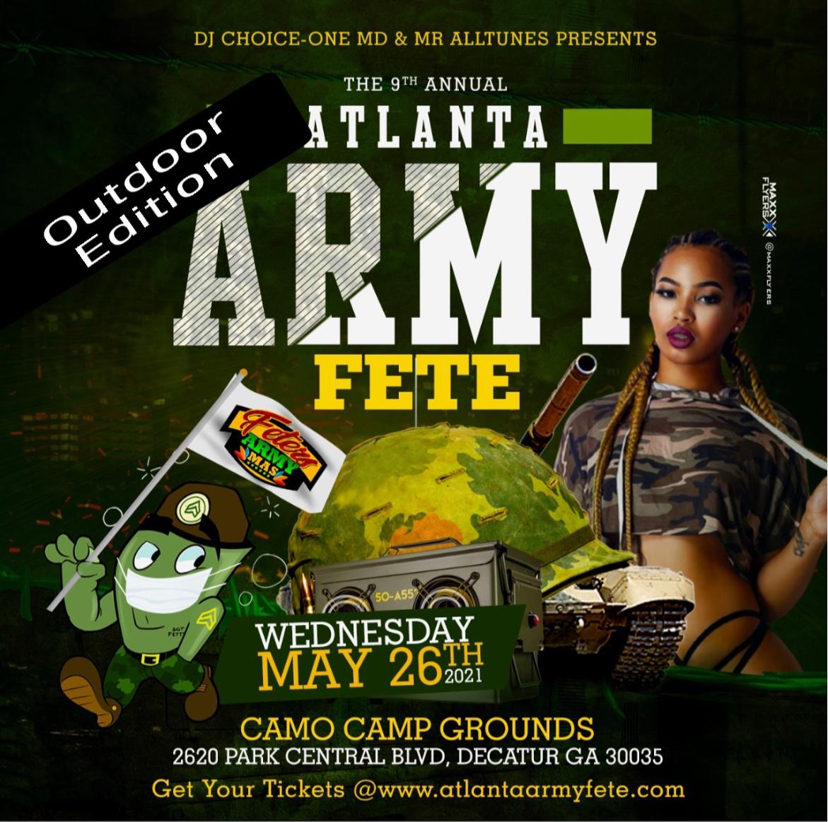 ATLANTA ARMY FETE