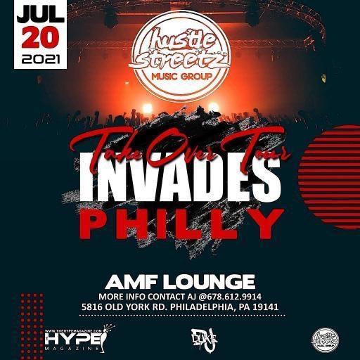 Hustle Streetz Music Group/Hype Magazine Takeover Tour Philly
