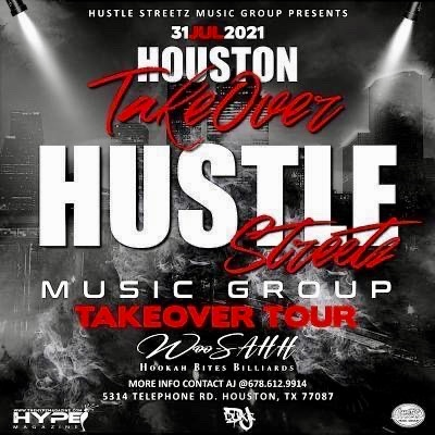 Hustle Streetz Music Group/Hype Magazine Takeover Tour Houston