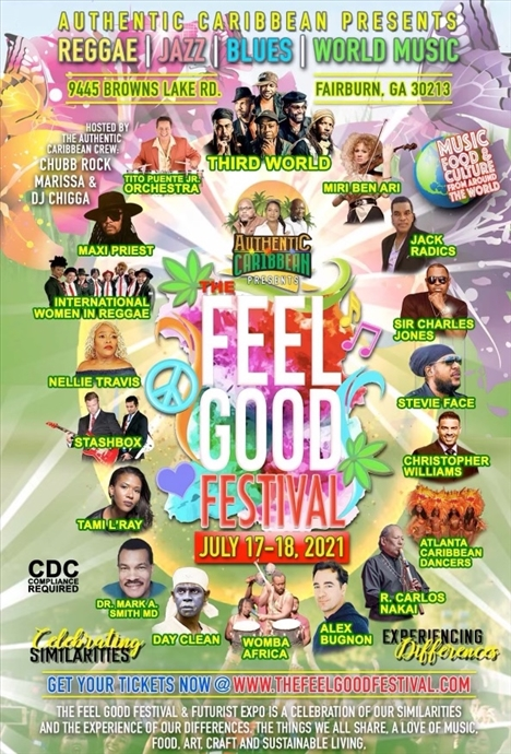 The Feel Good Festival and Futurist Expo (July 17th & 18th)