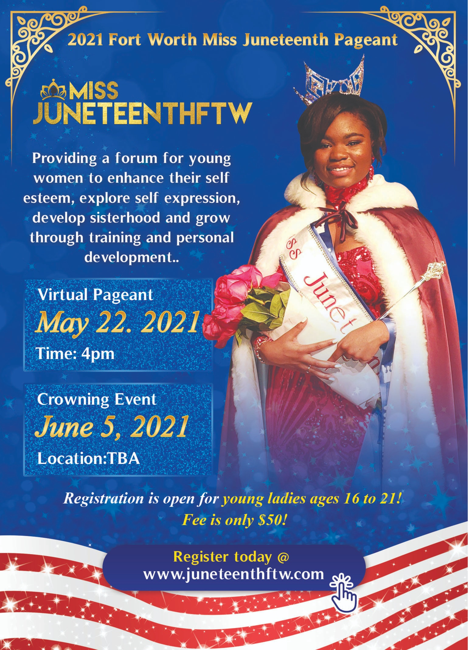 2021 Miss Juneteenth Pageant