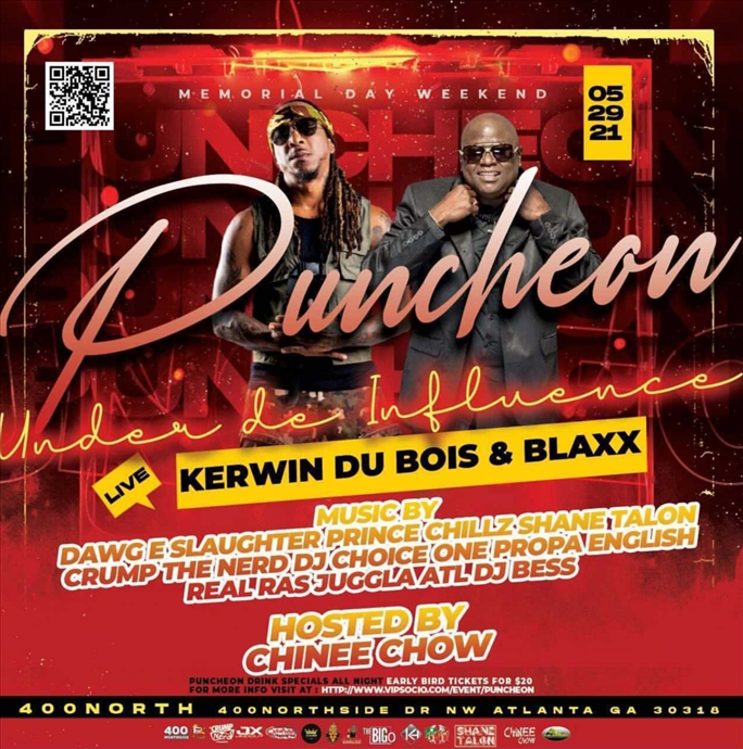 PUNCHEON! KERWIN DU BOIS AND BLAXX LIVE