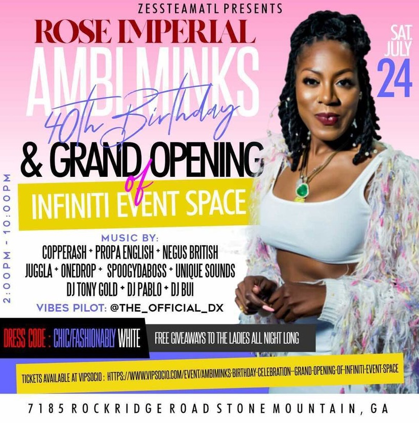 Ambi.Minks Birthday Celebration / Grand Opening of Infiniti Event Space