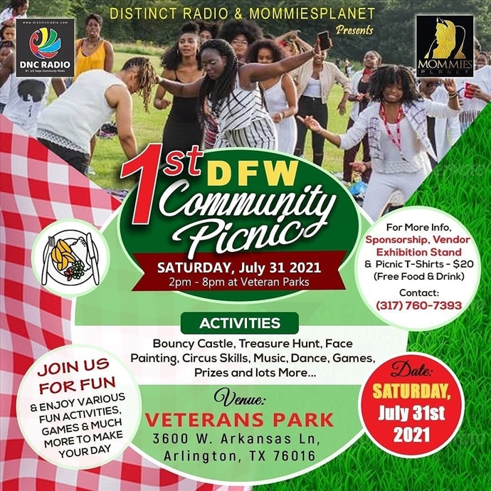 1st DFW Community Picnic