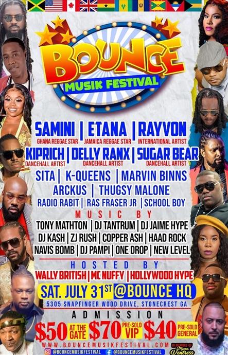 Bounce Musik Festival