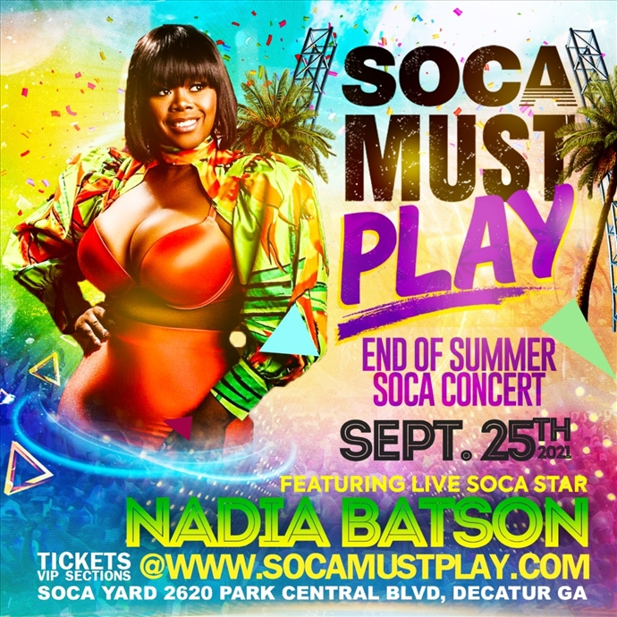 """Soca Must Play """" The Concert """""""