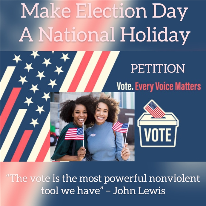 Make Election Day A National Holiday